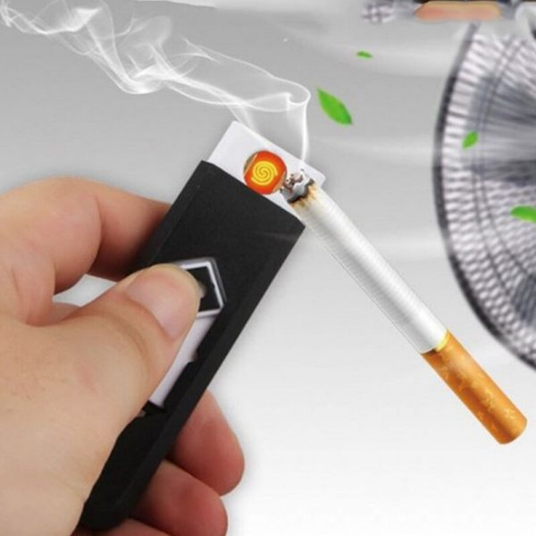 Rechargeable USB Electronic Cigarette Tobacco Cigar USB Lighter Flameless Windproof No Gas/Fuel USB Gadgets 3