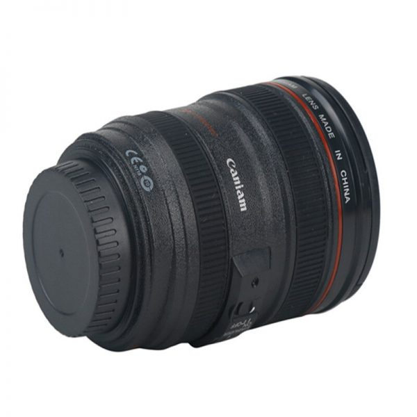 Creative 400ml Creative Canon Lens Cup Hand Cup Coffee Cup Second Generation Camera Cup SLR Camera Lens Covered Mug Photographer 3