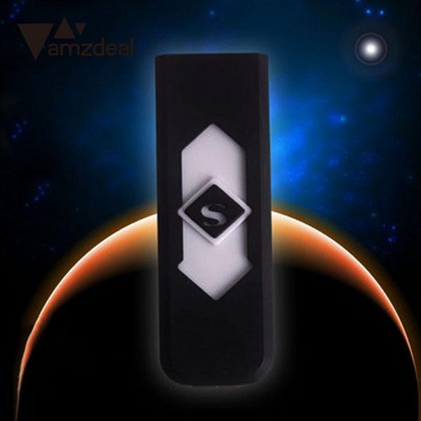 Rechargeable USB Electronic Cigarette Tobacco Cigar USB Lighter Flameless Windproof No Gas/Fuel USB Gadgets 2