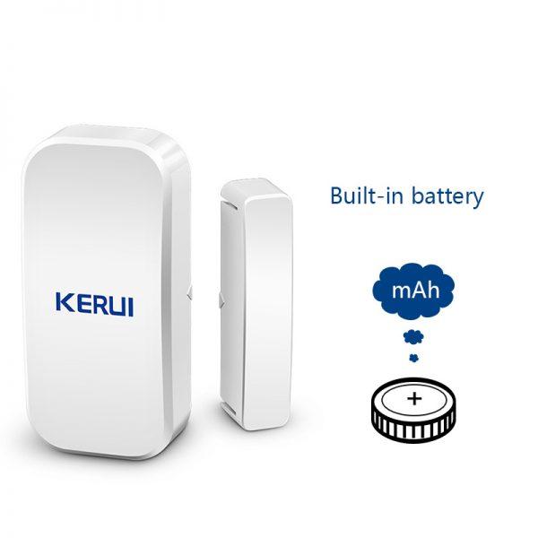 Original KERUI D025 433MHz Wireless Window Door Magnet Sensor Detector For Home Wireless Alarm System 3