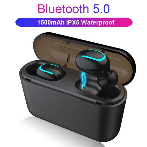 Bluetooth 5.0 Earphones TWS Wireless Headphones Blutooth Earphone Handsfree Headphone Sports Earbuds Gaming Headset Phone PK HBQ