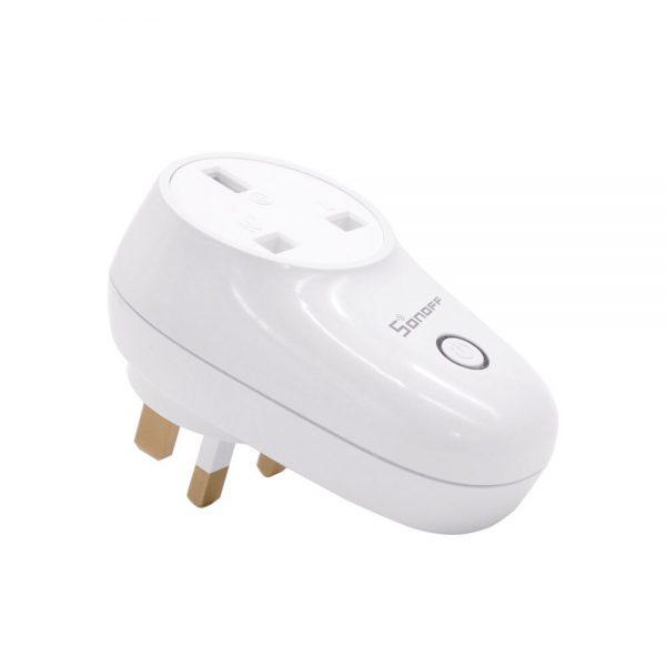 Sonoff S26 WiFi Smart Socket US/UK/CN/AU/EU Wireless Plug Power Sockets Smart Home Switch Work With Alexa Google Assistant IFTTT 2