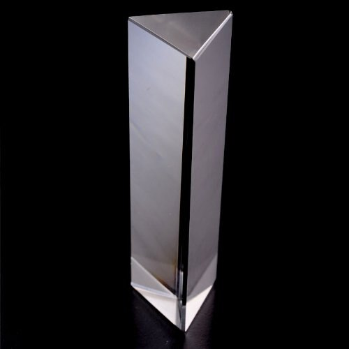 LHLL-Physics Education Prism Precision Optical Glass 4 inches 5