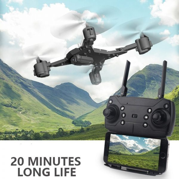 New RC Helicopter  Drone with Camera HD 1080P WIFI FPV RC Drone Professional Foldable Quadcopter 20 Minutes Battery Life 3