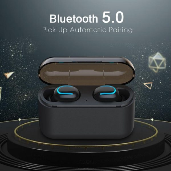 Bluetooth 5.0 Earphones TWS Wireless Headphones Blutooth Earphone Handsfree Headphone Sports Earbuds Gaming Headset Phone PK HBQ 1