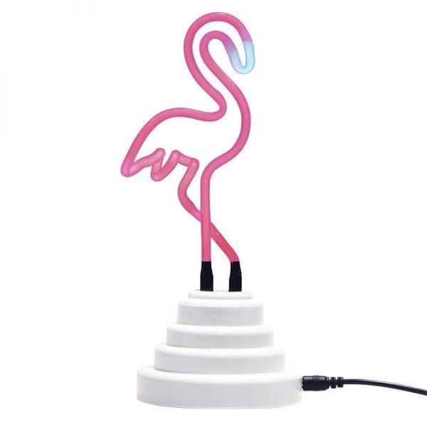Neon Light Neon Sign Decoration LED Night Light Cloud Rainbow Flamingo Shape Colorful Desk Lamp for Indoor Wedding Illumination 5