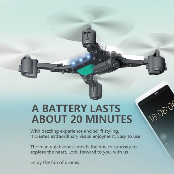 New RC Helicopter  Drone with Camera HD 1080P WIFI FPV RC Drone Professional Foldable Quadcopter 20 Minutes Battery Life 4