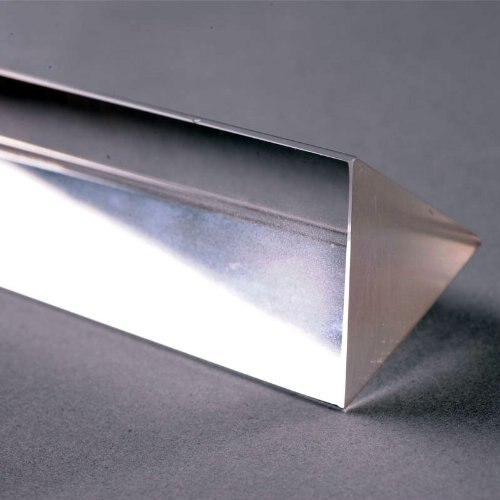 LHLL-Physics Education Prism Precision Optical Glass 4 inches 4