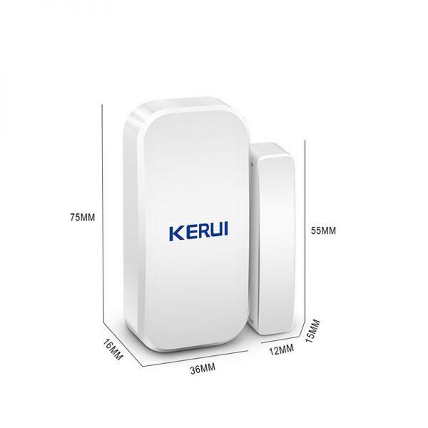 Original KERUI D025 433MHz Wireless Window Door Magnet Sensor Detector For Home Wireless Alarm System 5