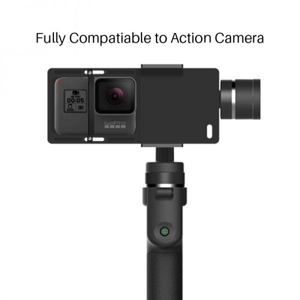 Funsnap Capture 3 Axis Handheld Phone Gimbal Stabilizer for iPhone X 8 7 Plus Samsung S8 Piexl Gopro Hero 7 6 5 Yi Sjam EKEN H9  1