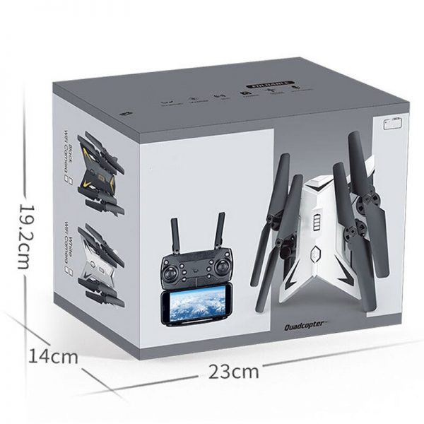 New RC Helicopter  Drone with Camera HD 1080P WIFI FPV RC Drone Professional Foldable Quadcopter 20 Minutes Battery Life 5