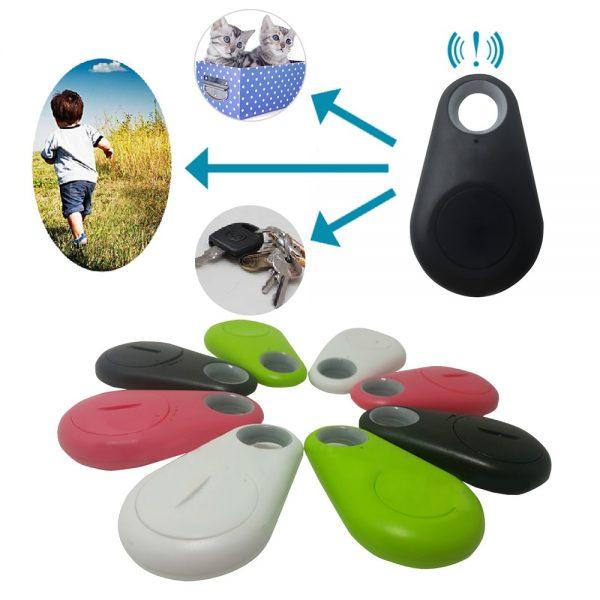 Pets Smart Mini GPS Tracker Anti-Lost Waterproof Bluetooth Tracer For Pet Dog Cat Keys Wallet Bag Kids Trackers Finder Equipment 2